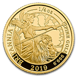1/4 oz Gold Britannias (Proof)