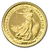 1/10 oz Gold Britannias