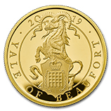 The Queen's Beasts Gold Proof Coins