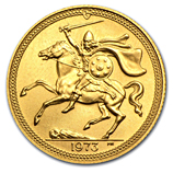 Isle of Man Gold Sovereigns