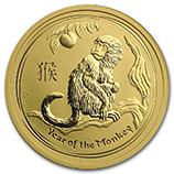 Year of the Monkey Fractional Gold Products