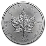 Silver Maple Leafs (Uncirculated)