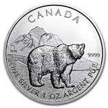 Canadian 1 oz Silver Commemorative Bullion Coins