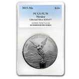 Kilo Silver Libertads (Proof Versions) (PCGS Certified)