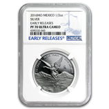 Fractional Silver Libertads (Proof Versions) (NGC Certified)