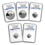 Silver Libertad Coin Sets (Proof Versions) (NGC Certified)