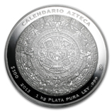 Mexican Silver Aztec Coins