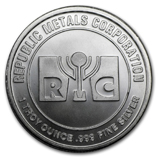 Republic Metals Corp. (Silver Rounds)