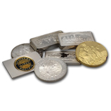 Sterling Silver Rounds & Bars (All Sizes)