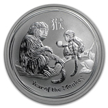 Perth Mint Silver (2016 Monkey Coins) (Series 2)