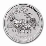 Perth Mint Silver (2015 Goat Coins) (Series 2)