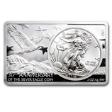 MDM 3 oz Silver Bar/Coin Series