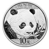 Chinese Silver Pandas (BU & Proof)