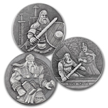 Viking Series Silver Coins