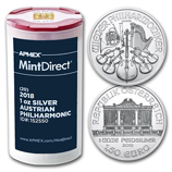 Austrian Mint 1 oz Silver Philharmonics (MintDirect®)