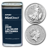 Silver Britannias (MintDirect®)