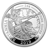 1 oz Silver Britannias (Proof)