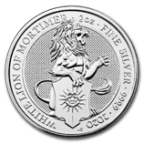 The Queen's Beasts (Silver)