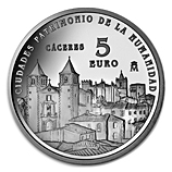 Silver Coins from the Spanish Royal Mint
