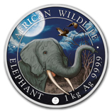 Silver Elephant Series (Collectible Coins)