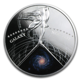 Galaxies and Space Coins