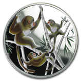 Year of the Monkey Fractional Silver Products