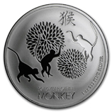 Year of the Monkey 1 oz Silver Products