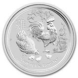 Year of the Rooster 2 oz - 1 kilo Silver Products