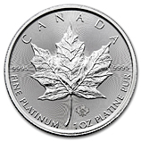 IRA-Approved Platinum Maple Leafs