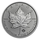 1 oz Platinum Maple Leafs