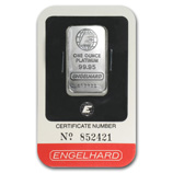 Engelhard (Platinum Bars & Rounds)