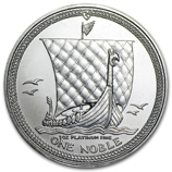 Platinum Coins from Isle of Man