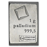 1 Gram (Palladium Bars & Rounds)