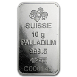 10 Gram (Palladium Bars & Rounds)