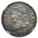 Early Half Dimes (1794 - 1837) (Certified)