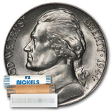 Jefferson Nickels (1938 - Date) (Rolls & Bags)