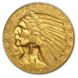 Indian Head $2.50 Gold
