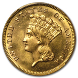 Indian Princess $3 Gold