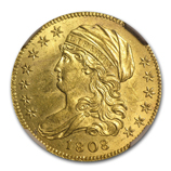 Capped Bust $5 Gold