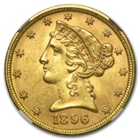 Liberty Head $5 Gold