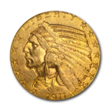 Indian Head $5 Gold