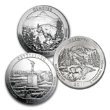 2011 5 oz Silver America The Beautiful Coins