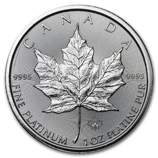 2015 1 oz Platinum Maple Leafs