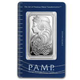 PAMP Suisse Silver Fortuna Bars