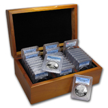 Certified Silver Eagle Sets