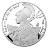 2015 Proof Britannias