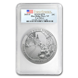 Graded America The Beautiful 5 oz Silver Coins