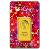 Perth Mint Oriana Gold Bar