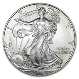 Backdated Silver American Eagles