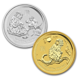 Perth Mint Year of the Monkey